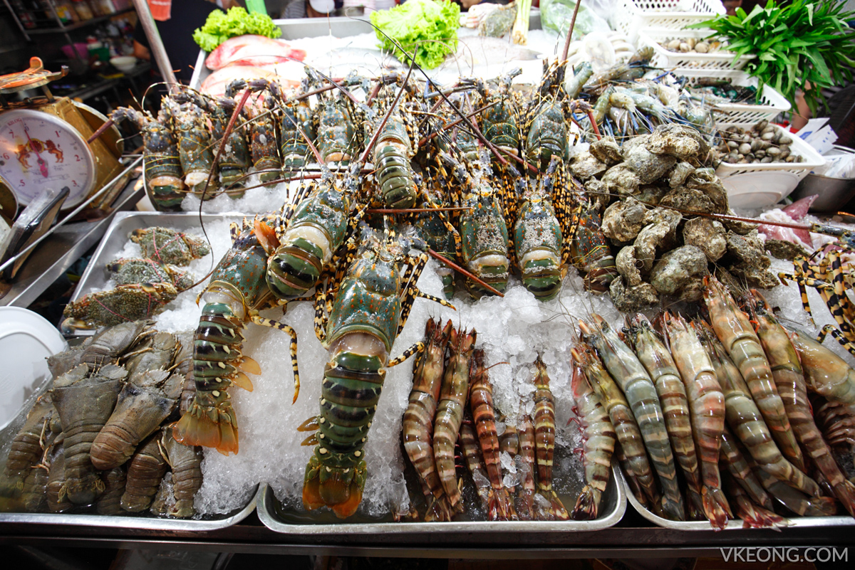 Hua Hin Night Market Lobsters