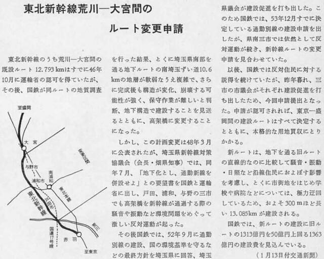 上越新幹線 新宿-大宮間ルート (26)