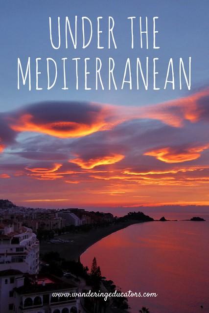 Under the Mediterranean
