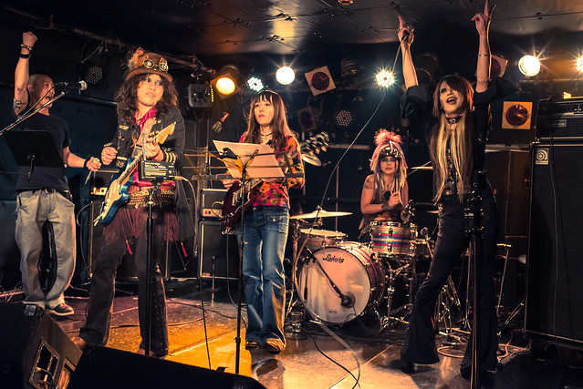 Vintage Rock Night jam session at ShowBoat, Tokyo, 01 Feb 2017 -00413
