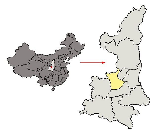 Location_of_Xianyang_Prefecture_within_Shaanxi_(China)