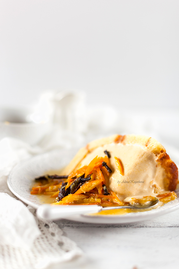 Pumpkin Bombe Ice Cream