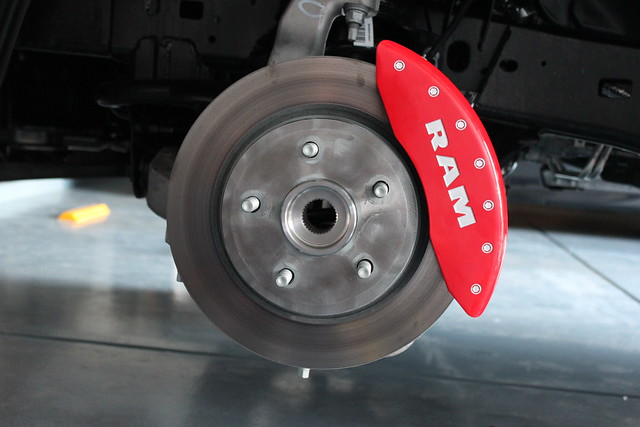 Dodge Ram 1500 Sport >> MGP Caliper Covers on 2015 Ram 1500 Sport | DODGE RAM FORUM - Dodge Truck Forums
