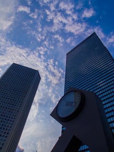 Shinjuku Mitsui Building and Shinjuku Sumitomo Building