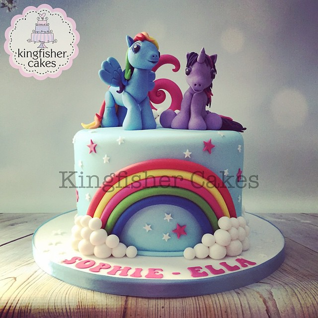 The finished My Little Pony Cake fabulous cute adorable Flickr