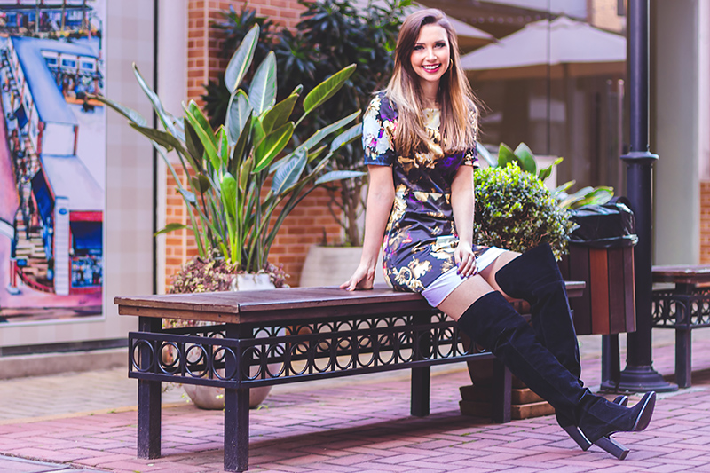 8-look do dia bota over the knee com vestido blog sempre glamour jana taffarel