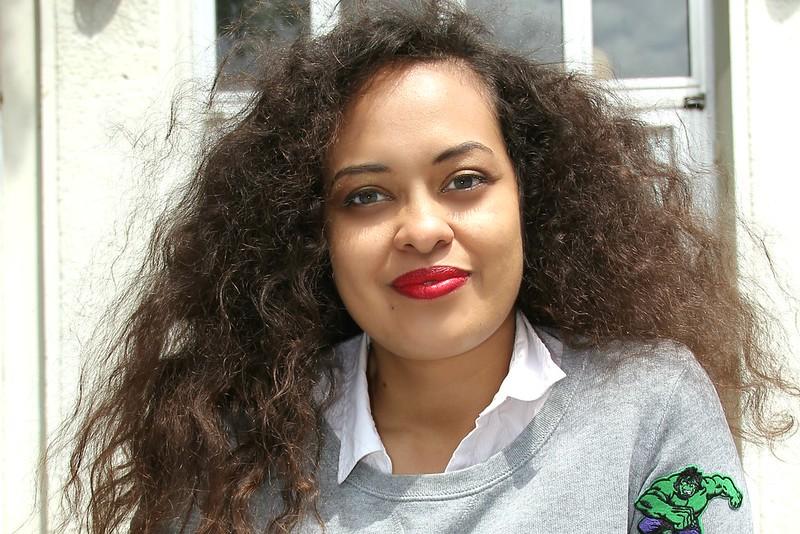 Frizzy Hair I www.StyleByCharlotte.com #CroppedTop #Animal Print #BigHair