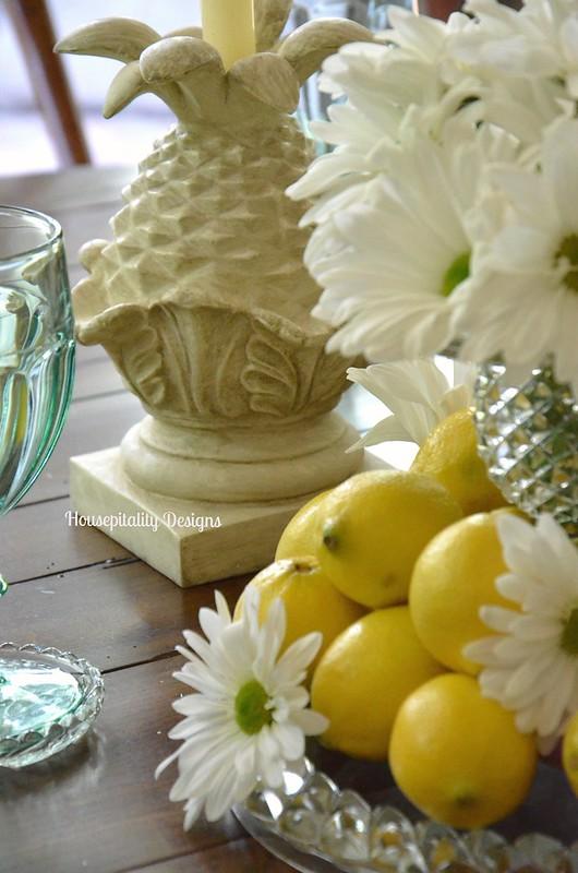Lemons & Daisies Centerpiece-Housepitality Designs