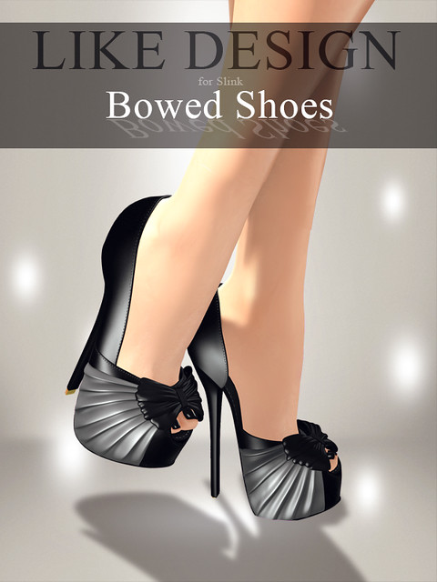 .: LIKE DESIGN :. Bowed Shoes