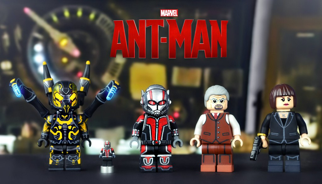LEGO Ant-Man Minifigures | With Ant-Man finally being releas… | Flickr
