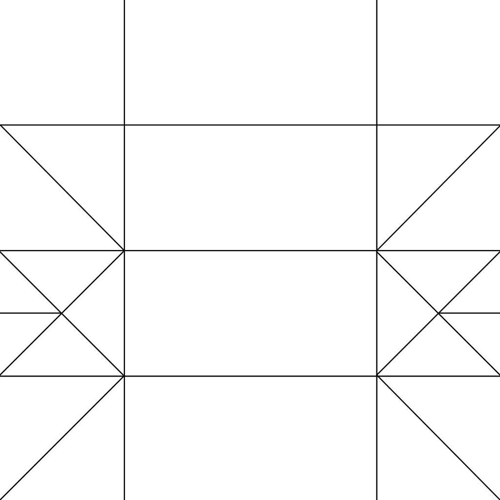 Name Plate Crease Pattern For Square Paper This Is A Cre Flickr