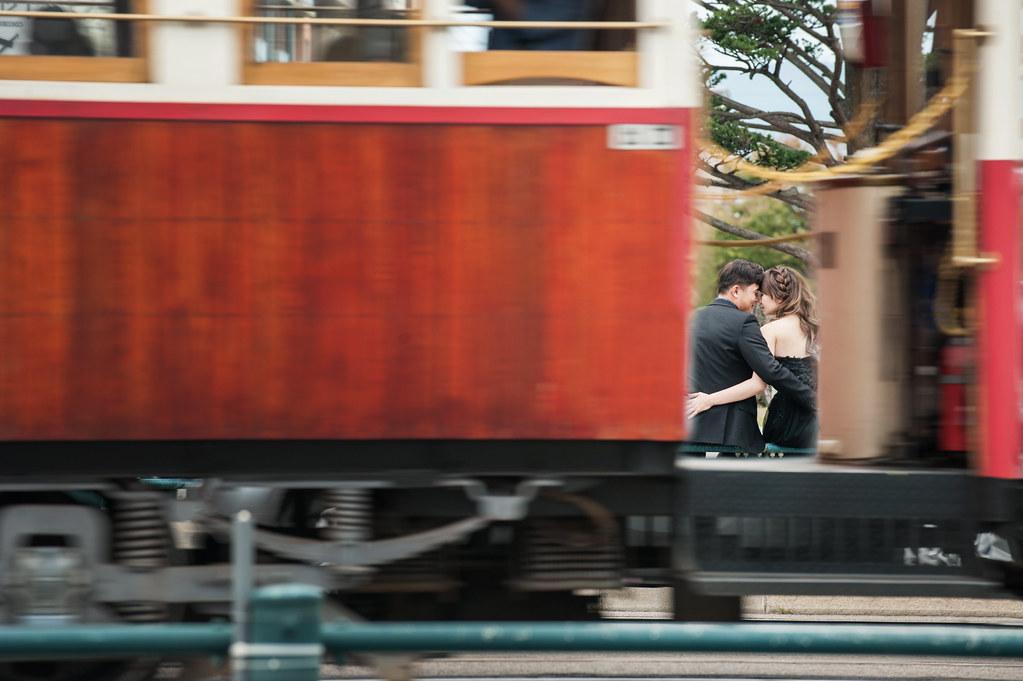 函館電車婚紗
