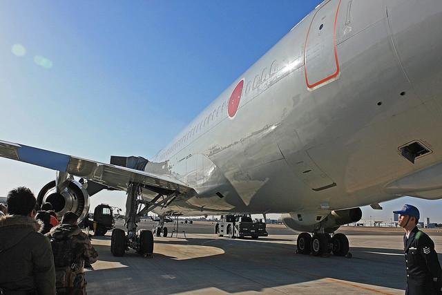 KC-767 機内展示 87-3601