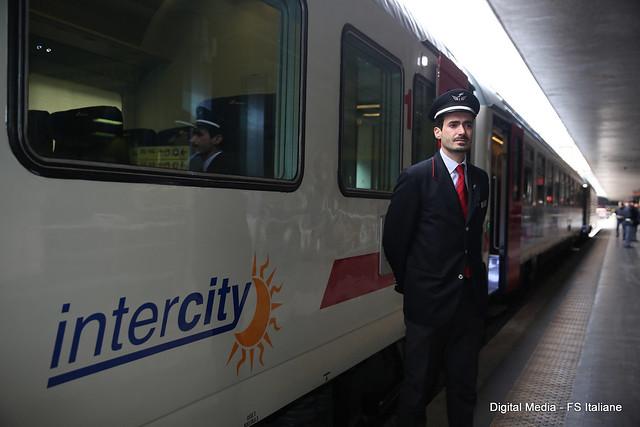 La nuova livrea: Intercity giorno