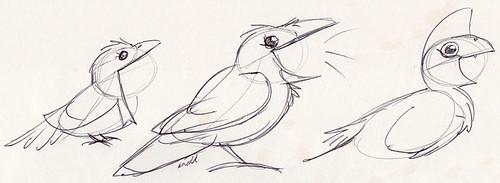 1.21.17 - Birdie Sketches