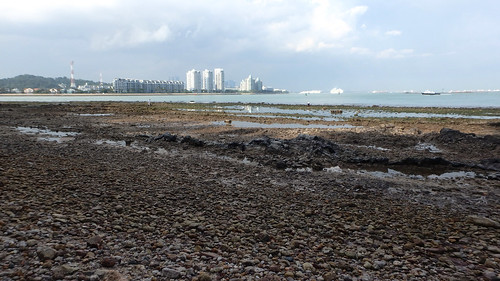 Rocky shores of Pulau Tekukor