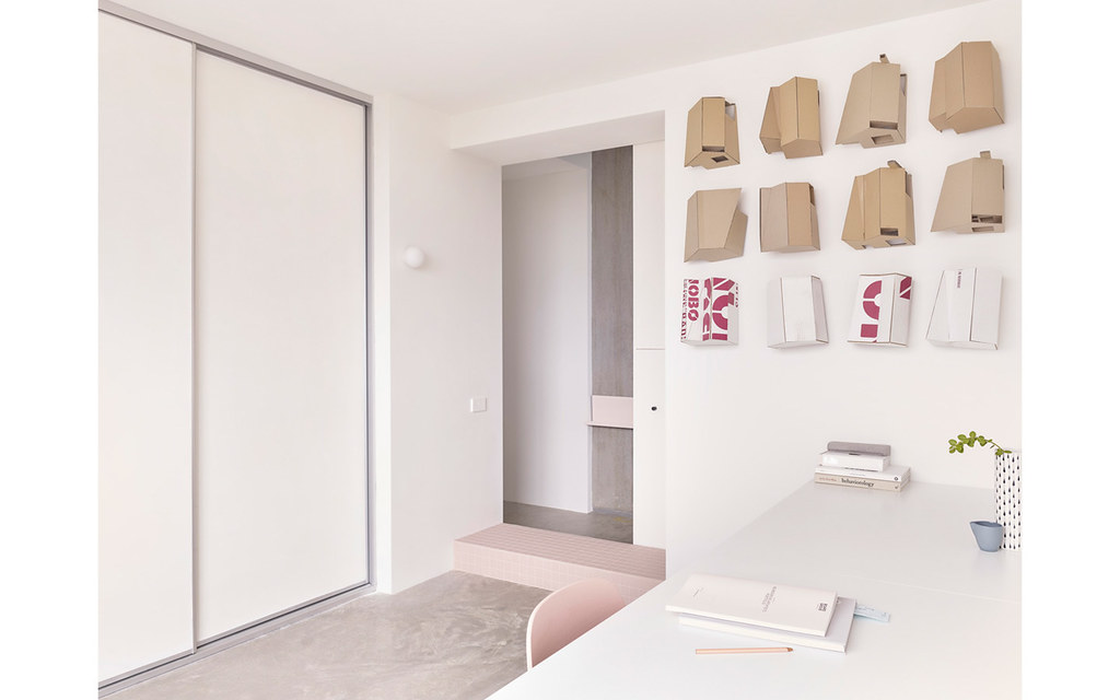 Melbourne pink apartment design by BoardGrove Architects Sundeno_13