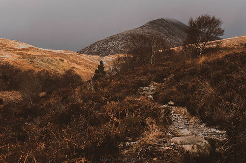 The Path to Goatfell