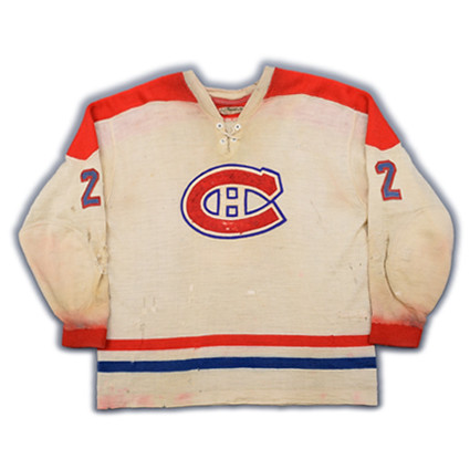 Montreal Canadiens 1959-60 F jersey