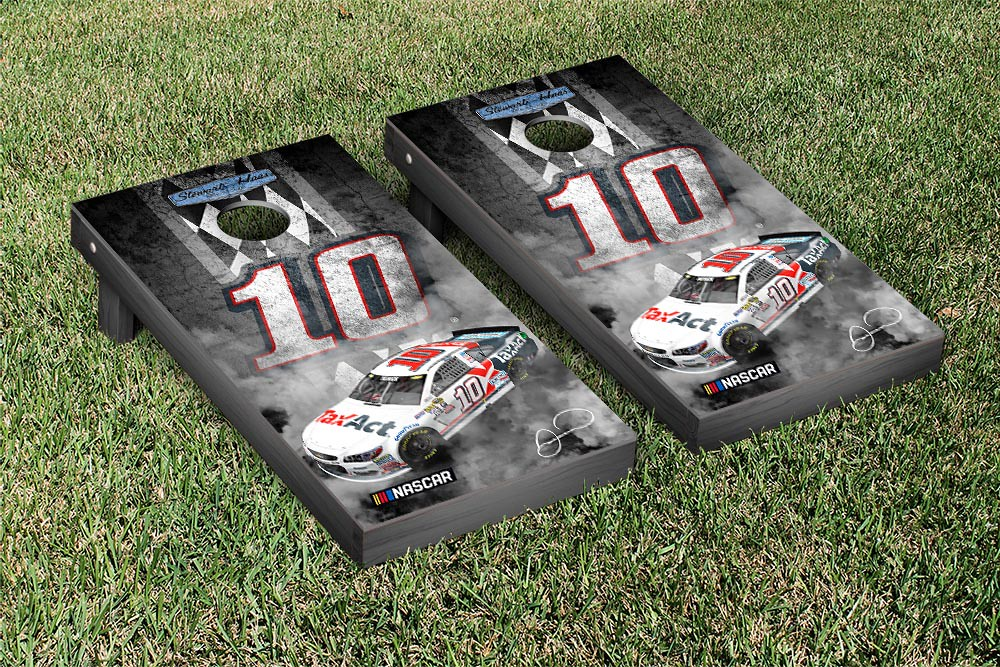 DANICA PATRICK #10 CORNHOLE GAME SET PITROW TAX ACT VERSION