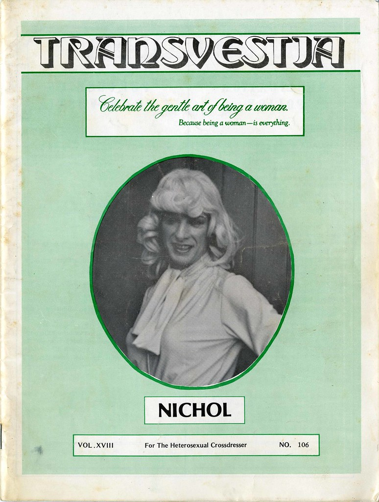 Image result for transvestia magazine