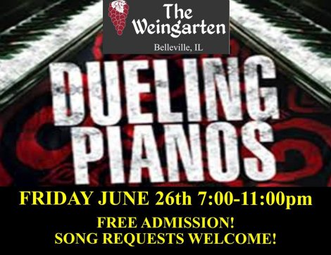 Dueling Pianos 6-26-15