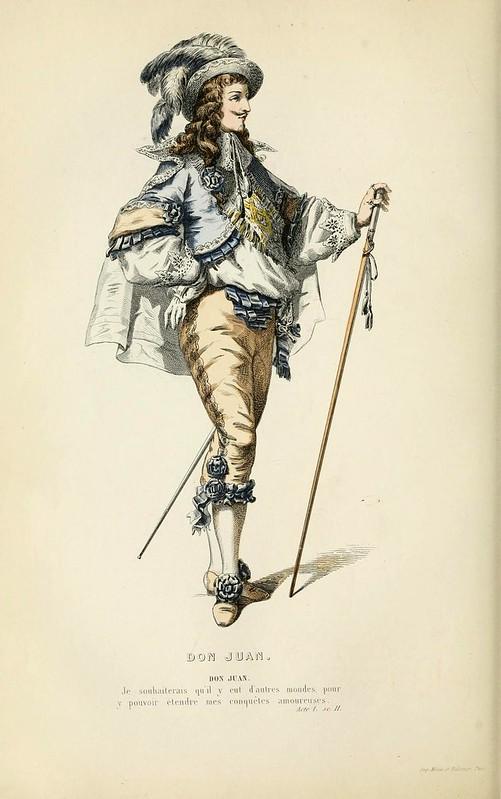 007- Don Juan -Oeuvres completes ornee de portraits en pied colories…1871- Moliere