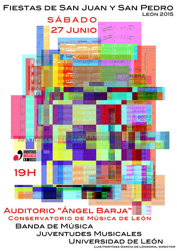 CONCIERTO DE LAS FIESTAS DE SAN JUAN 2015 - BANDA DE MÚSICA JJMM-ULE - SÁBADO 27 DE JUNIO´15