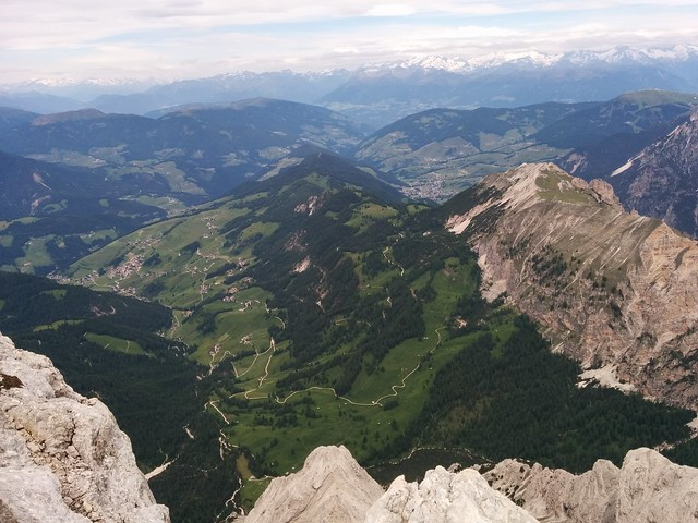 Ausblick vom Gipfel der Neunerspitze
