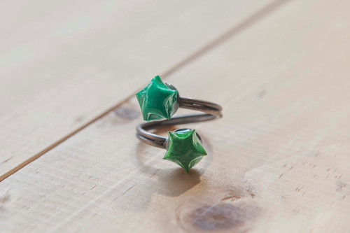 Lucky Stars Ring by Little Ray of Sunshine