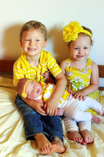 Aaron, Audrey & Adelynn 2015
