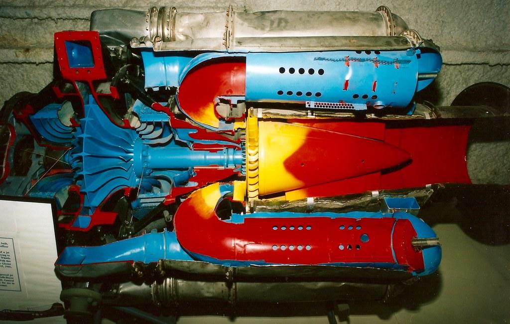 Cutaway Centrifugal Compressor Jet Engine Lone Star Fligh