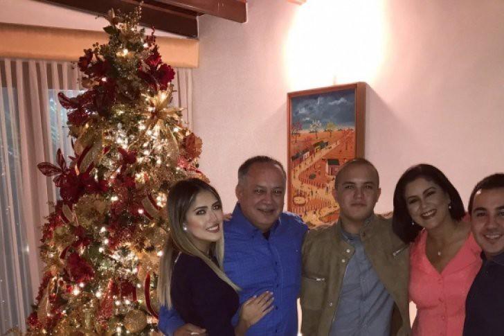 Así fue la Navidad de Diosdado Cabello (Foto)