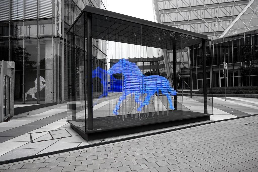Blue Horse Lvm Christian Mu Flickr