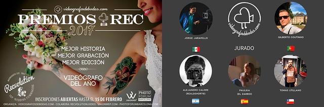 Alejandro Calore (REAL&SHORT) Jurado Premios REC 2017