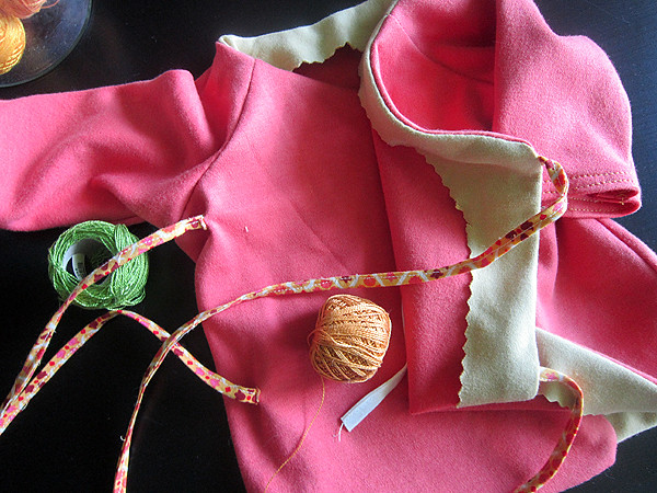 a baby Kimono