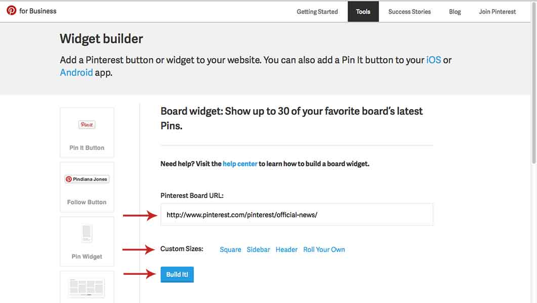 Hwo to Add Pinterest to your Blog