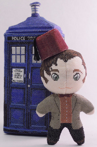 Doctor Who 3D cross stitch patterns by Robins Design - Matt Smith