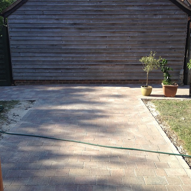 The end of the paving. The start of a whole new garden adventure :)