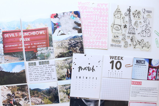 march 2015 :: pocket memory keeping // project life