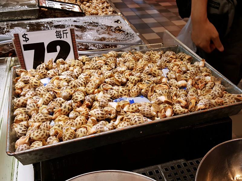 Hong Kong seafood market