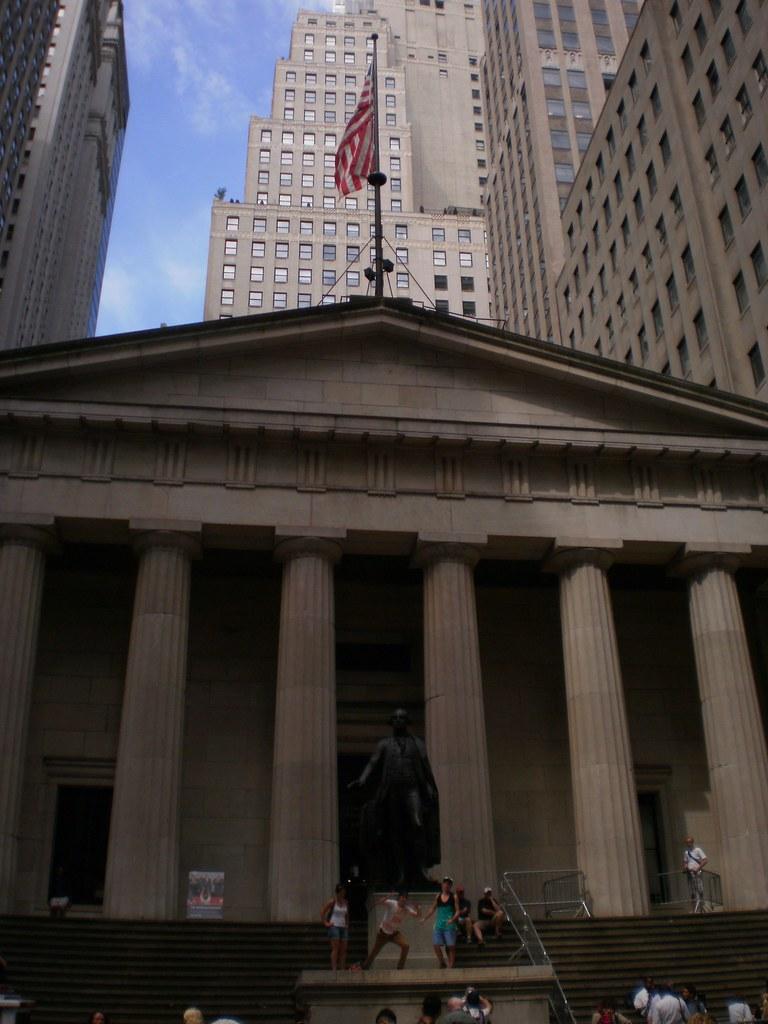 Federal Hall National Memorial, NYC | OLYMPUS DIGITAL ...