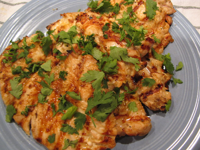 Sesame Ginger Lime Chicken