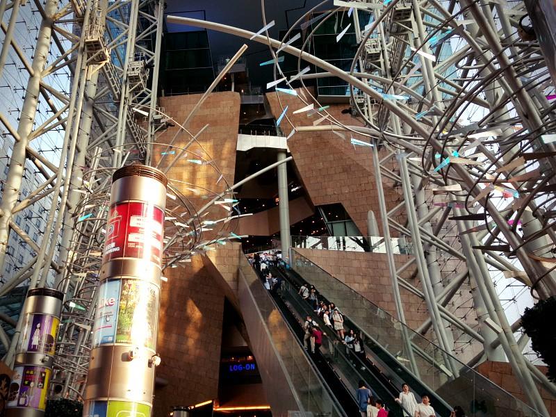 Langham Place Mall Mongkok