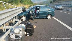 incidente autostrada 22 luglio 01