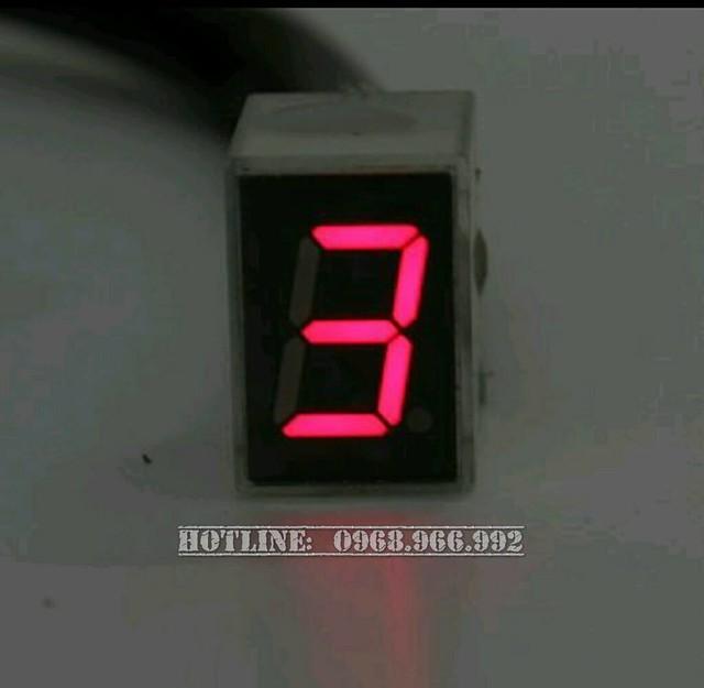 Báo số điện tử LED - Số 3