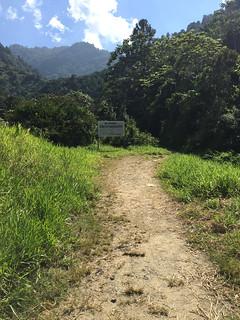 53 - Feldweg zum Saltos Baiguate