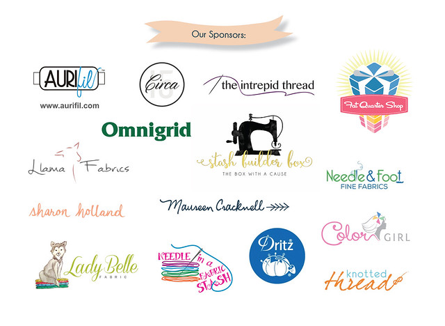 The Sewcial Bee Sampler Sponsors!