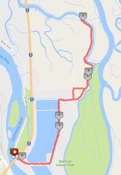 Today's awesome walk, 6.21 miles in 2:02, 13,464 steps