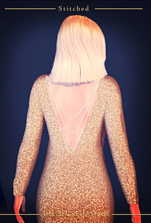 Glitter mermaid dress - Back detail | by Adele Bumblefoot